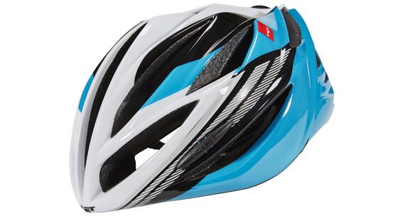 MET Forte Helmet cyan/black/white